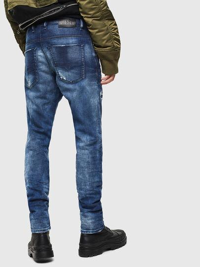 Diesel - Krooley JoggJeans 0097N, Dunkelblau - Jeans - Image 2