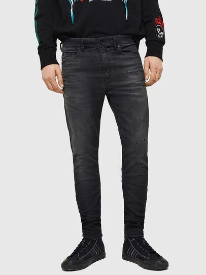 Diesel - Spender JoggJeans 069GN, Schwarz/Dunkelgrau - Jeans - Image 1