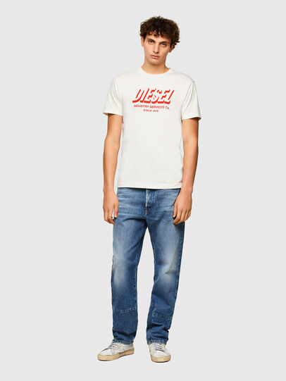 Diesel - T-DIEGOS-A5, Bianco - T-Shirts - Image 4