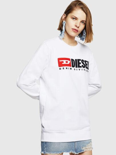 Diesel - F-GIR-DIVISION-FL, Weiß - Sweatshirts - Image 1