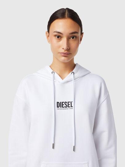 Diesel - D-ILSE-ECOSMALLOGO, Blanc - Robes - Image 3