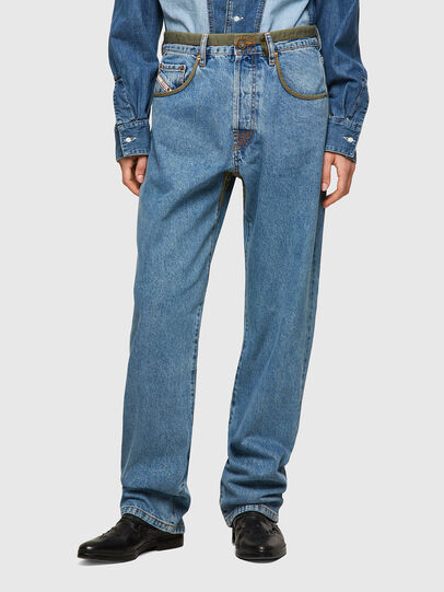 Diesel - DxD-P3 0CBBI, Bleu Clair - Jeans - Image 2