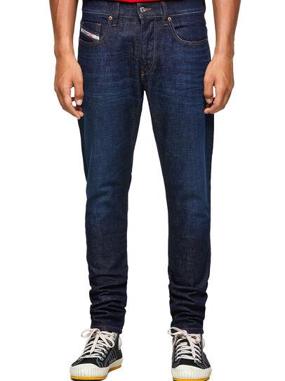 Diesel - D-Strukt 09A12, Blu Scuro - Jeans - Image 1