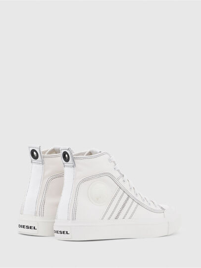 Diesel - S-ASTICO MID LACE W, White - Sneakers - Image 3