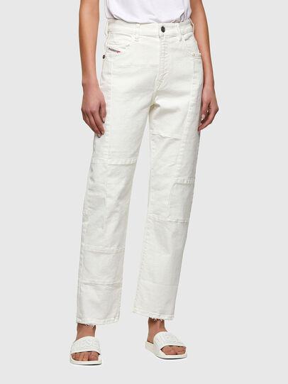 Diesel - D-Reggy 009UL, Blanc - Jeans - Image 1