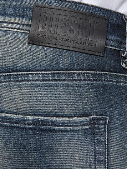 Diesel - Sleenker 069NI, Dunkelblau - Jeans - Image 4