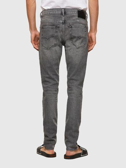 Diesel - D-Luster 09A10, Gris Clair - Jeans - Image 2
