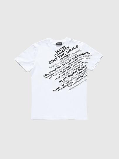 Diesel - TDIEGOS3, Bianco - T-shirts e Tops - Image 1