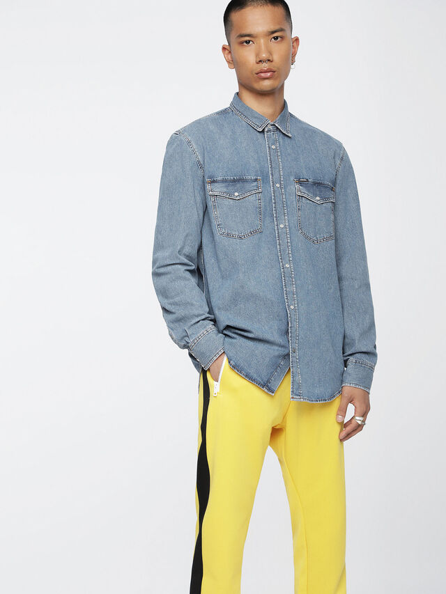 D-ROOKE, Jeansblau