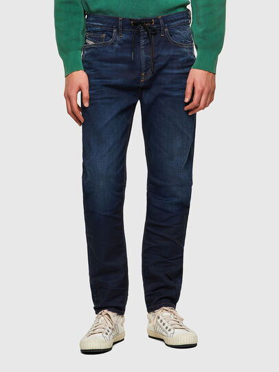 Diesel - D-VIDER JoggJeans® 069WS, Bleu Foncé - Jeans - Image 1