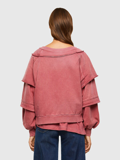 Diesel - F-STRAT, Rosa - Sweatshirts - Image 2