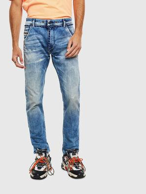 Krooley JoggJeans 0099Q, Mittelblau - Jeans