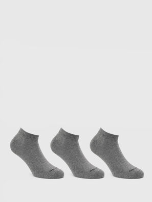 SKM-GOST-THREEPACK, Grau - Kurze Socken