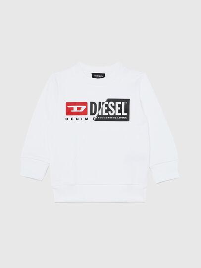 Diesel - SGIRKCUTYB-R, Blanc - Pull Cotton - Image 1