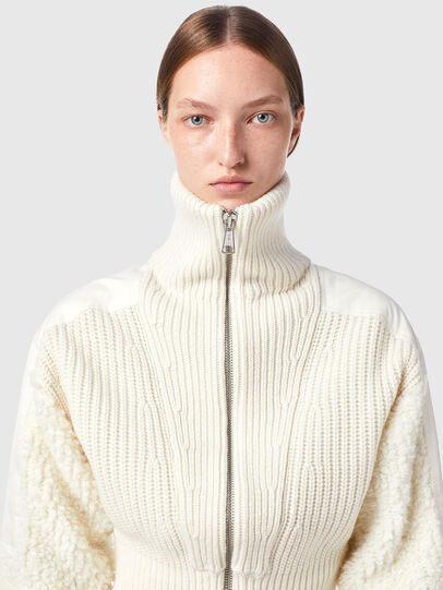 Diesel - M-WISCONSIN, Blanc - Pull Maille - Image 3