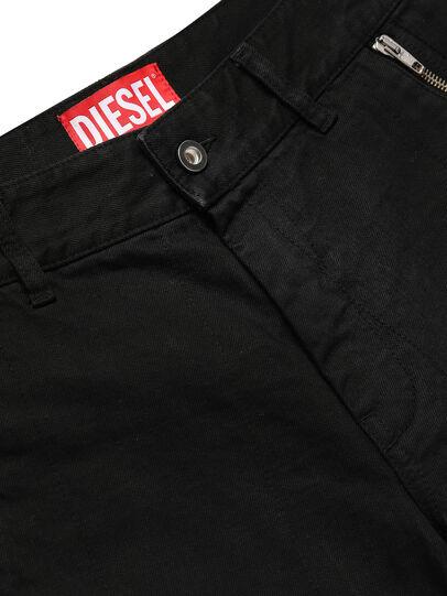 Diesel - GR02-P303, Schwarz - Kurze Hosen - Image 3