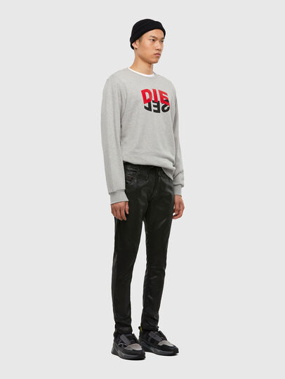 Diesel - KROOLEY JoggJeans® 0849R, Schwarz/Dunkelgrau - Jeans - Image 5