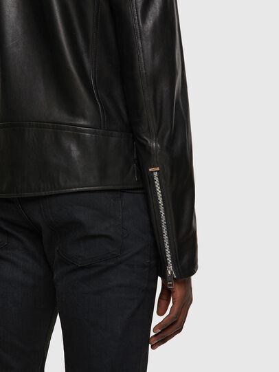 Diesel - L-GARRETT-A, Noir - Vestes de cuir - Image 4