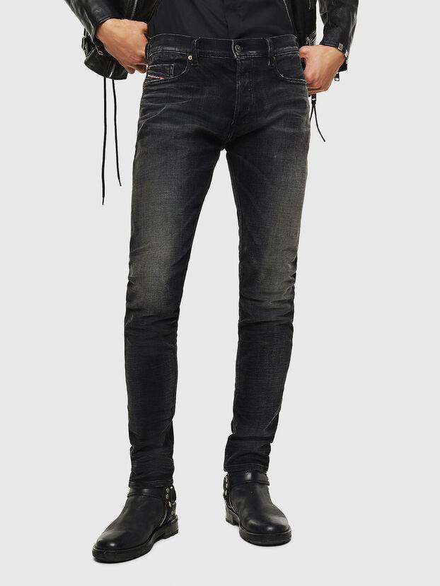 Tepphar 0098B, Schwarz/Dunkelgrau - Jeans