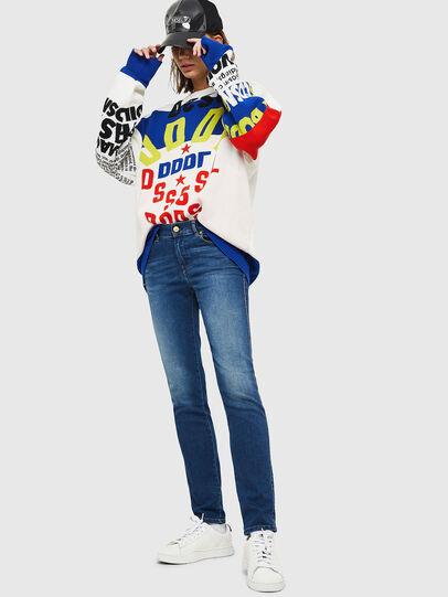 Diesel - Sandy 086AL, Mittelblau - Jeans - Image 4