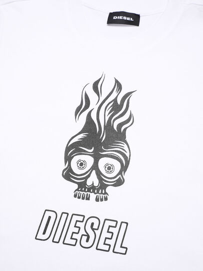 Diesel - TUSILYWQ, Weiß - T-Shirts und Tops - Image 3