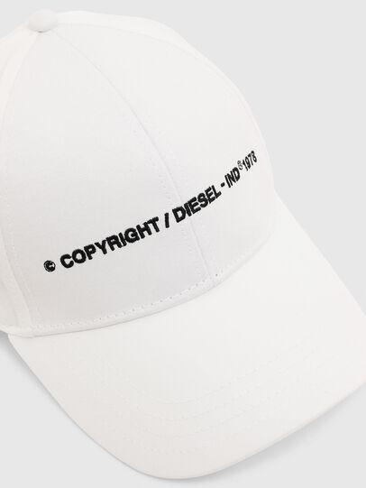 Diesel - COMIXI, Weiß - Hüte - Image 3
