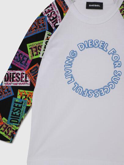 Diesel - TENTYB-R, Blanc - T-shirts et Hauts - Image 3