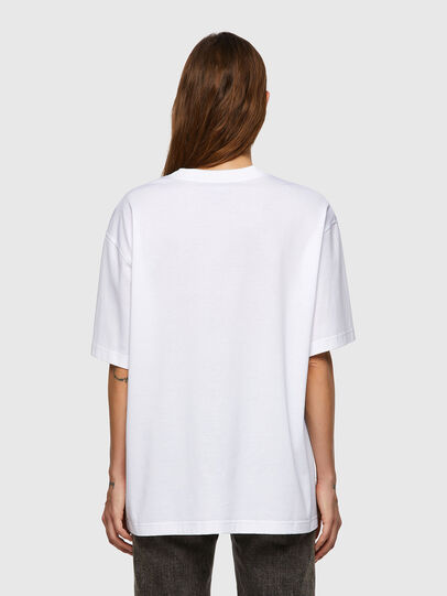 Diesel - T-SHARP, Blanc - T-Shirts - Image 2