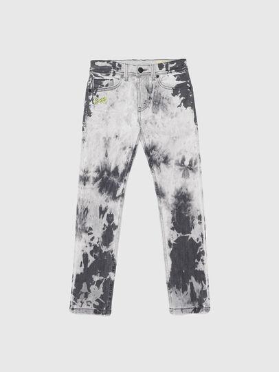 Diesel - THOMMER-J, Nero/Bianco - Jeans - Image 1