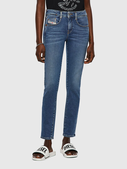 Diesel - D-Ollies JoggJeans® 069XA, Blu medio - Jeans - Image 1