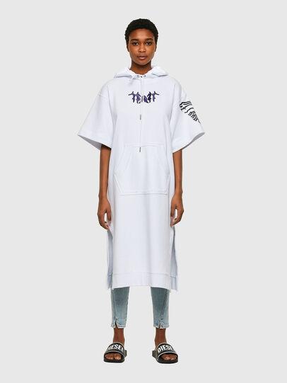 Diesel - D-ORSY, Blanc - Robes - Image 1