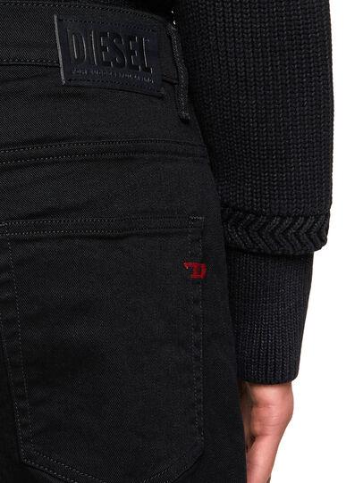 Diesel - D-Fining 0688H, Noir/Gris foncé - Jeans - Image 4