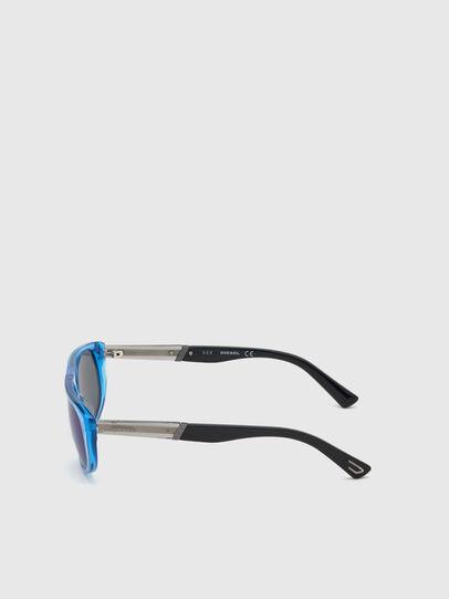 Diesel - DL0306, Blau/Schwarz - Kid Brillen - Image 3