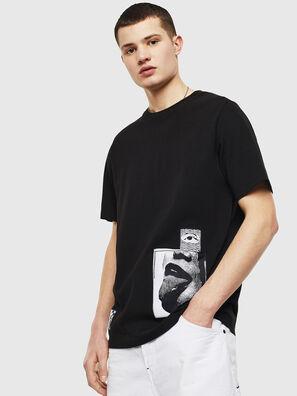 T-JUST-T18, Schwarz - T-Shirts