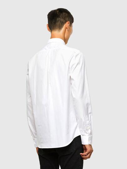 Diesel - S-WEIR, Blanc - Chemises - Image 2