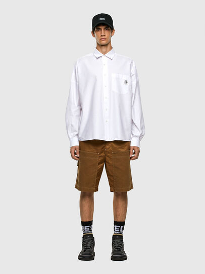 Diesel - S-LOOMY-A, Weiß - Hemden - Image 4