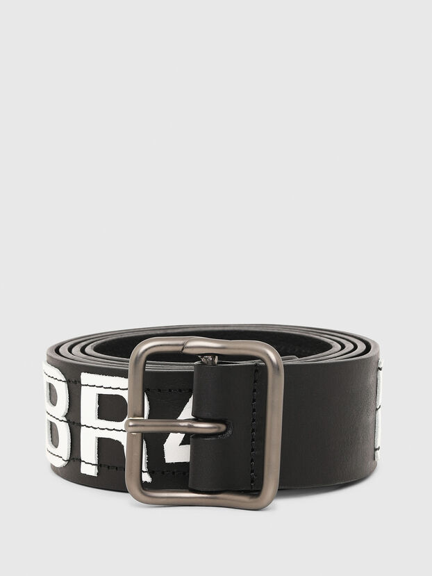 B-R4V3, Schwarz/Weiß - Gürtel