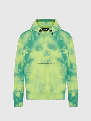 S-ALBYEL-X4, Grün/Gelb - Sweatshirts