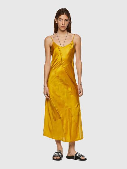 Diesel - D-GAIA, Yellow - Dresses - Image 1