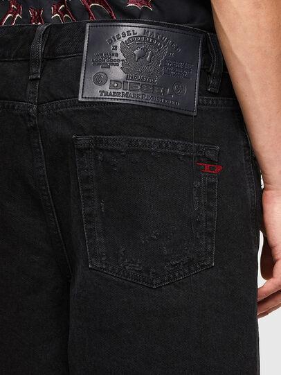 Diesel - D-STRUKT-SHORT, Noir/Gris foncé - Shorts - Image 4
