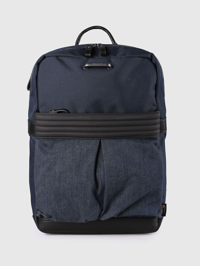 M-PROOF BACK, Jeansblau