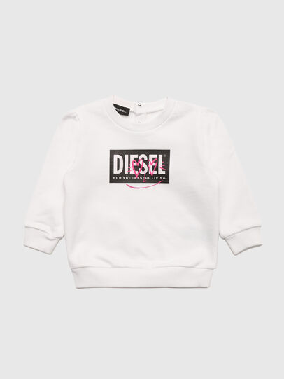 Diesel - SOOLB, Blanc - Pull Cotton - Image 1
