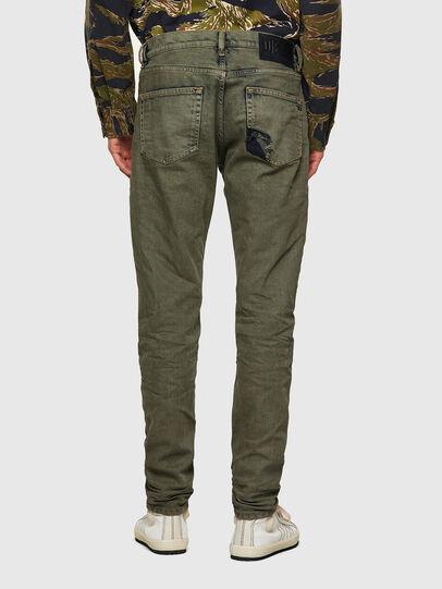 Diesel - D-Strukt 09A50, Verde Militare - Jeans - Image 2