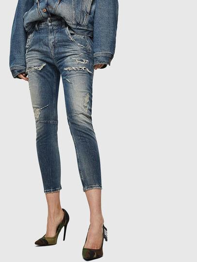 Diesel - Fayza JoggJeans 0890A, Hellblau - Jeans - Image 1