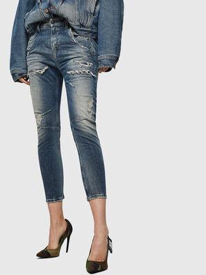 Fayza JoggJeans 0890A, Hellblau - Jeans