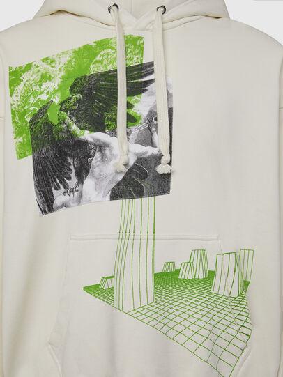 Diesel - S-ALBY-X2, Weiß - Sweatshirts - Image 3