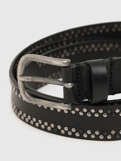 Diesel - B-INARY, Black - Belts - Image 2