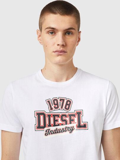 Diesel - T-DIEGOS-K26, Blanc/Rouge - T-Shirts - Image 3