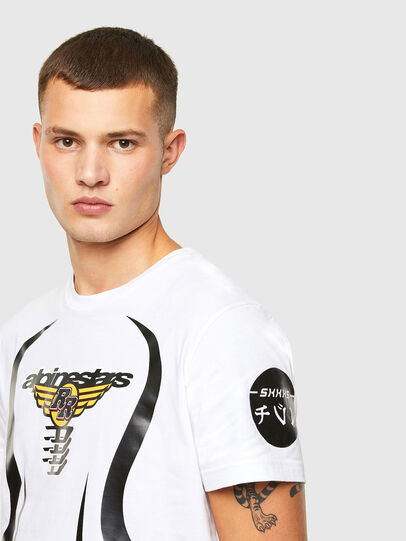 Diesel - ASTARS-T-DIEGOS-A, Weiß - T-Shirts - Image 3