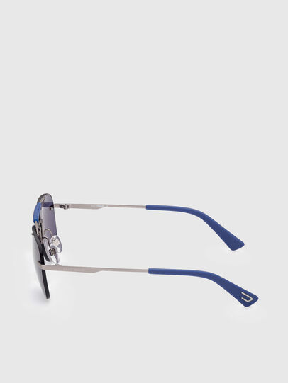 Diesel - DL0340, Blu - Occhiali da sole - Image 3